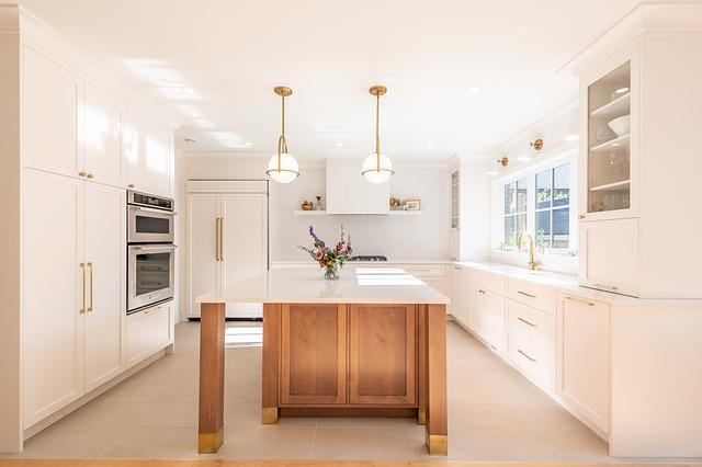 zdjęcia kuchni białych